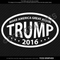 MAKE AMERICA GREAT AGAIN Trump 2016 Decal