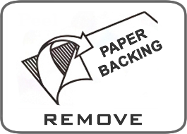 Remove Paper Backing