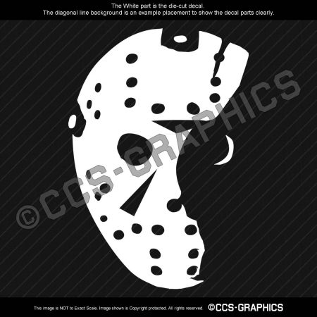FRIDAY The 13th Jason Voorhees Decal