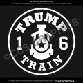 TRUMP TRAIN Decal #TrumpTrain