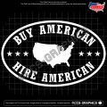 Buy American Hire American Decal