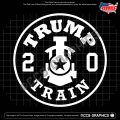 TRUMP TRAIN 2020 Decal