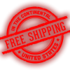 Always Free Shipping on ALL ORDERS!
