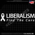 liberalism-find-the-cure-decal