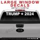 LARGE WINDOW DECALS - For Trucks, SUVS, Signage